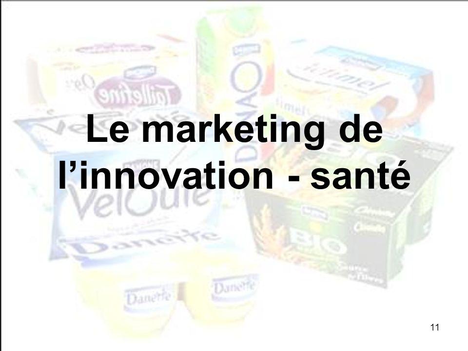 11 Le marketing de linnovation - santé