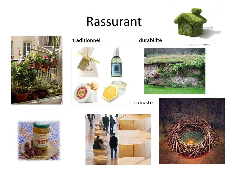 Rassurant traditionnel robuste durabilité