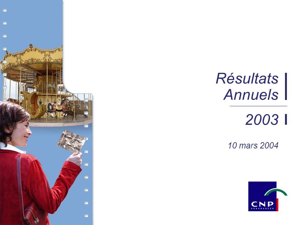 2003 Résultats Annuels 10 mars 2004