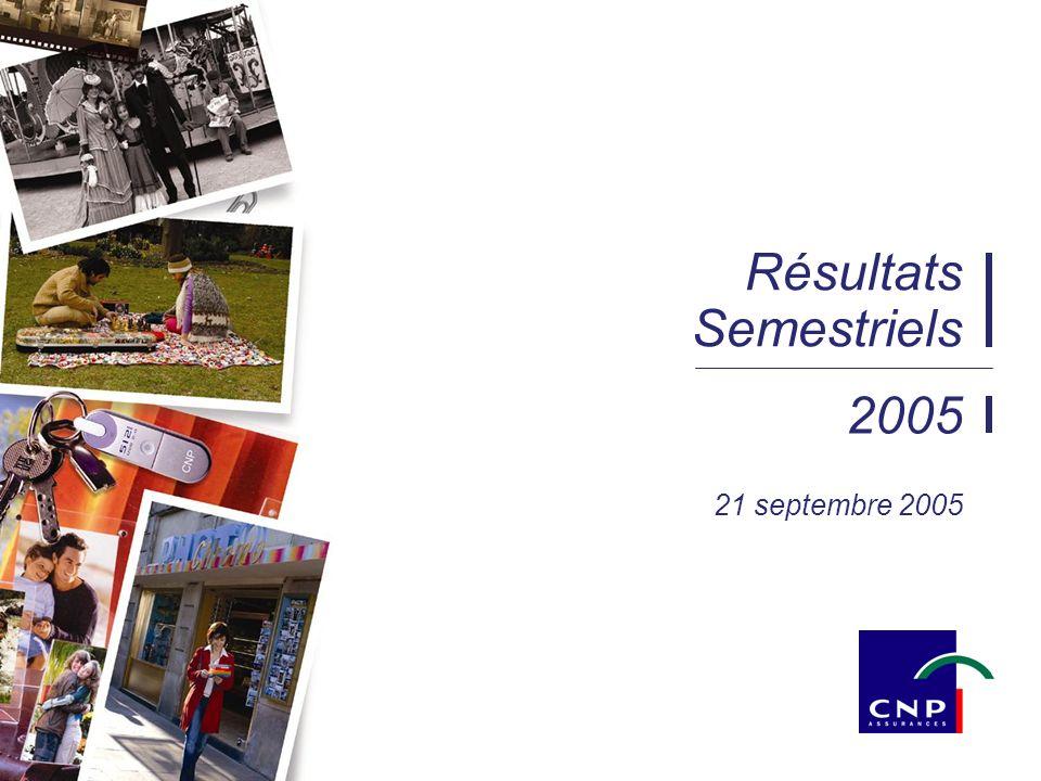 25/03/2014 22:161 2005 Résultats Semestriels 21 septembre 2005