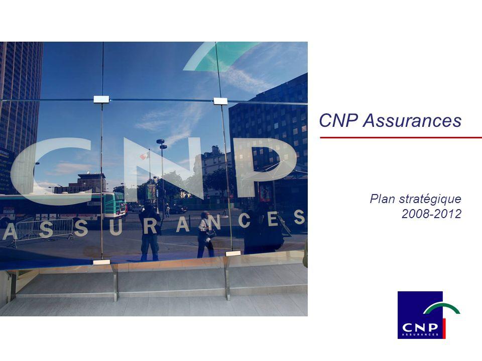 CNP Assurances Plan stratégique 2008-2012