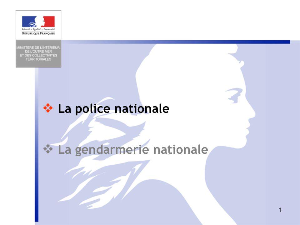 12 Les personnels civils en gendarmerie I/ La situation actuelle II/ La situation après promulgation de la loi
