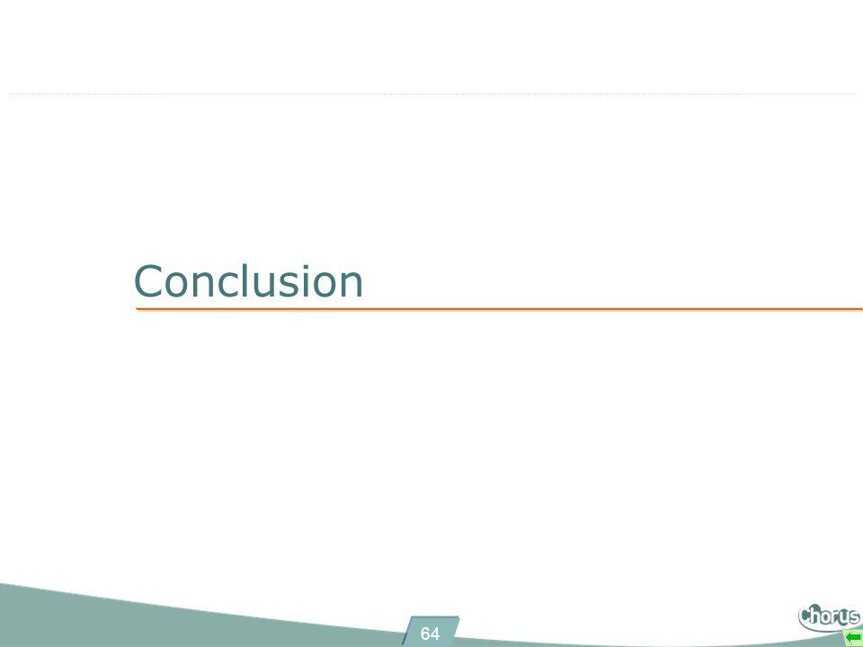 64 Conclusion