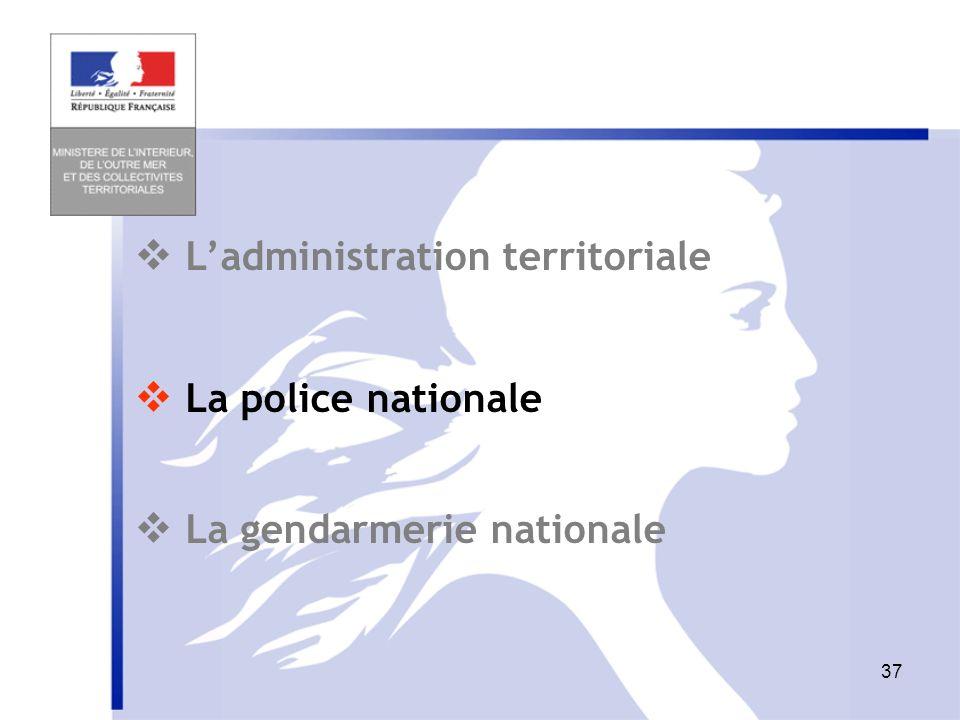36 Schéma de lorganisation départementale à deux directions Pour mémoire : Police Gendarmerie DDSIS Unité territ. (ex-subdiv DRIRE - DREAL) Antenne lo