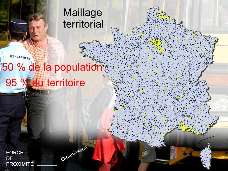 46 Maillage territorial FORCE DE PROXIMITÉ Organisation 22 régions
