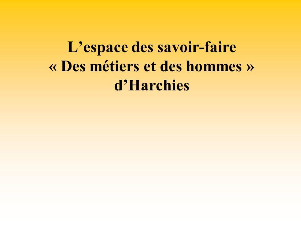 Lespace des savoir-faire « Des métiers et des hommes » dHarchies
