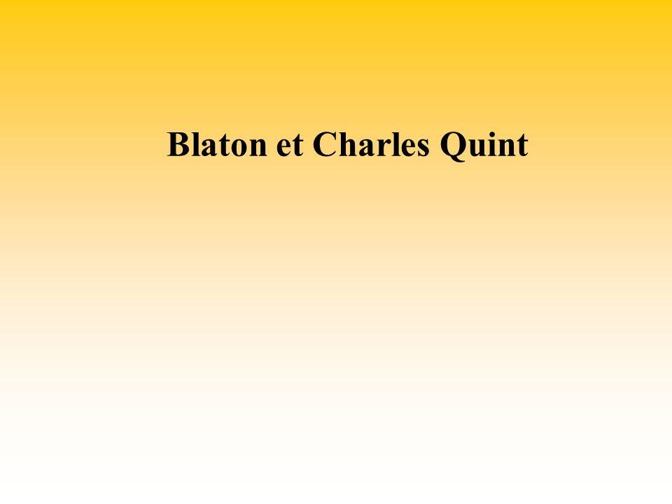 Blaton et Charles Quint