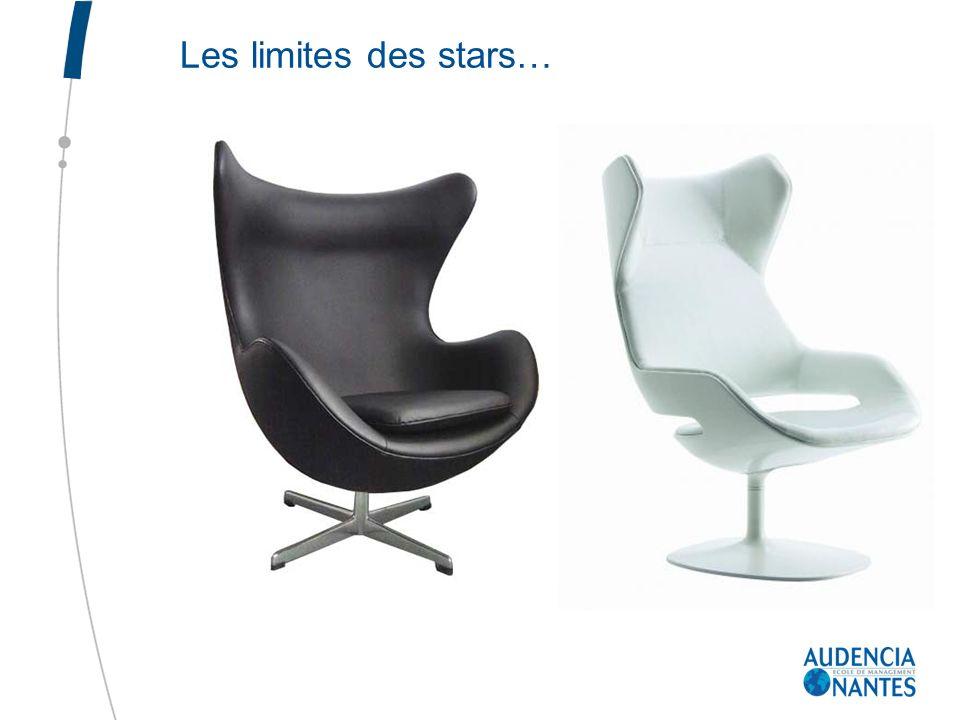 Les limites des stars…