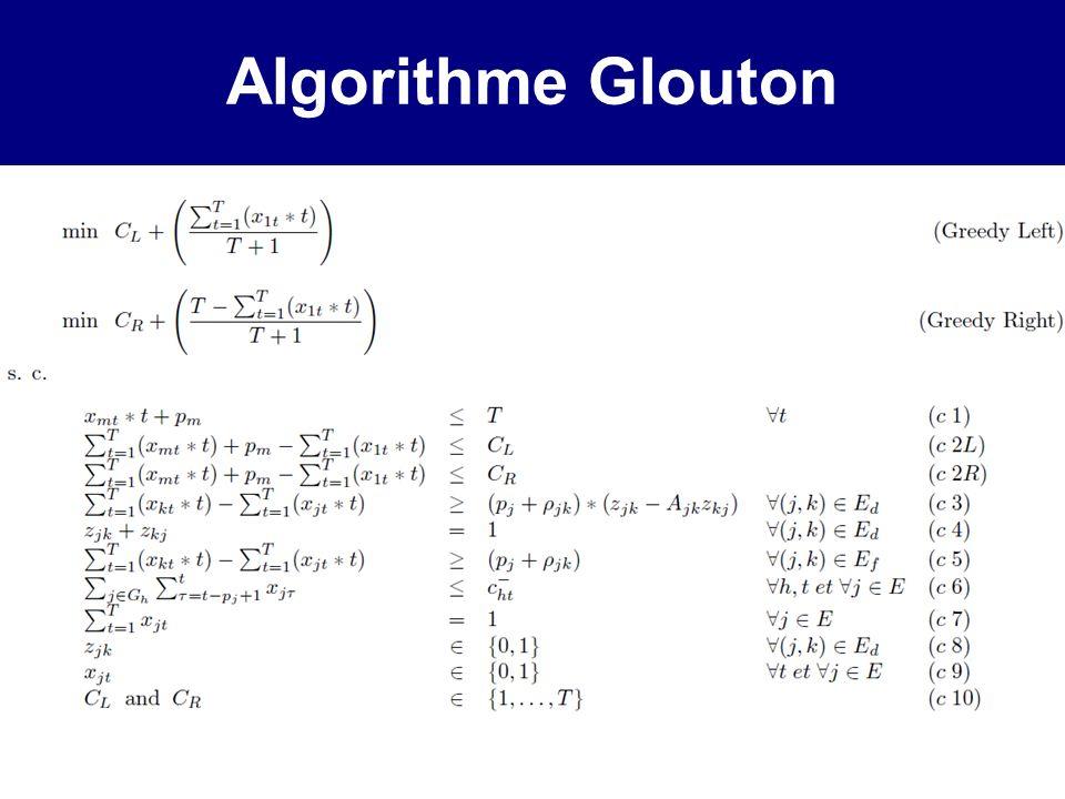 Algorithme Glouton