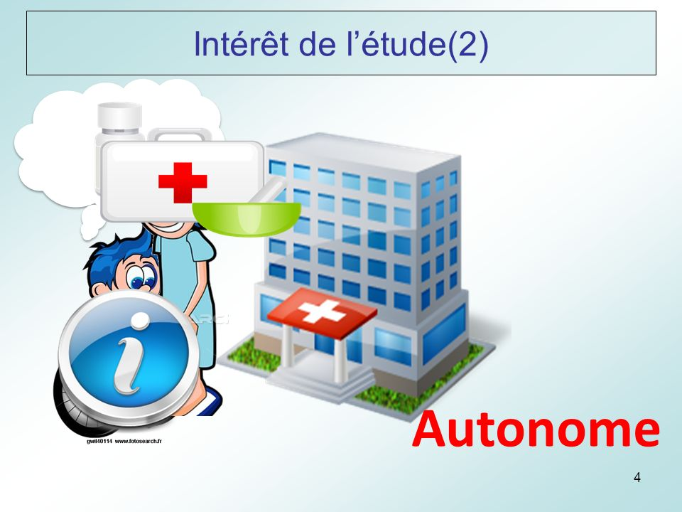 4 Autonome Intérêt de létude(2)