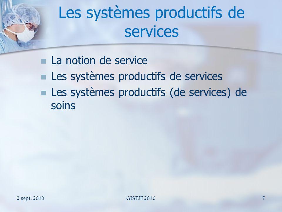 La notion de service « Le service est un action portant sur quelque chose (objet tangible ou symbolique) ou sur quelquun (objet vivant).