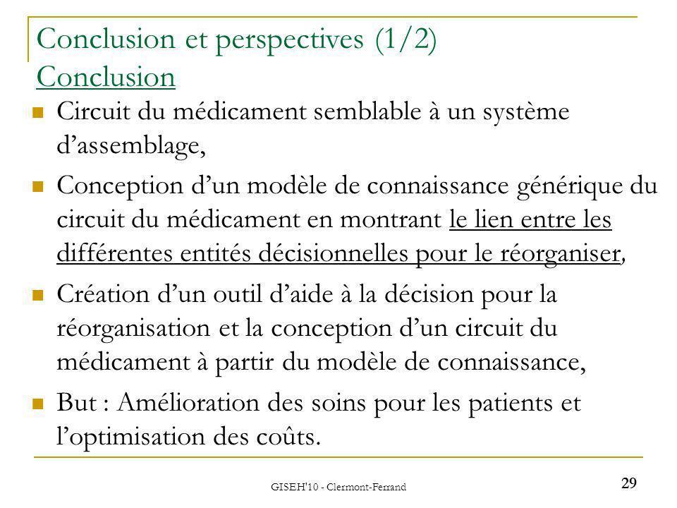 Circuit du médicament semblable à un système dassemblage, Conception dun modèle de connaissance générique du circuit du médicament en montrant le lien
