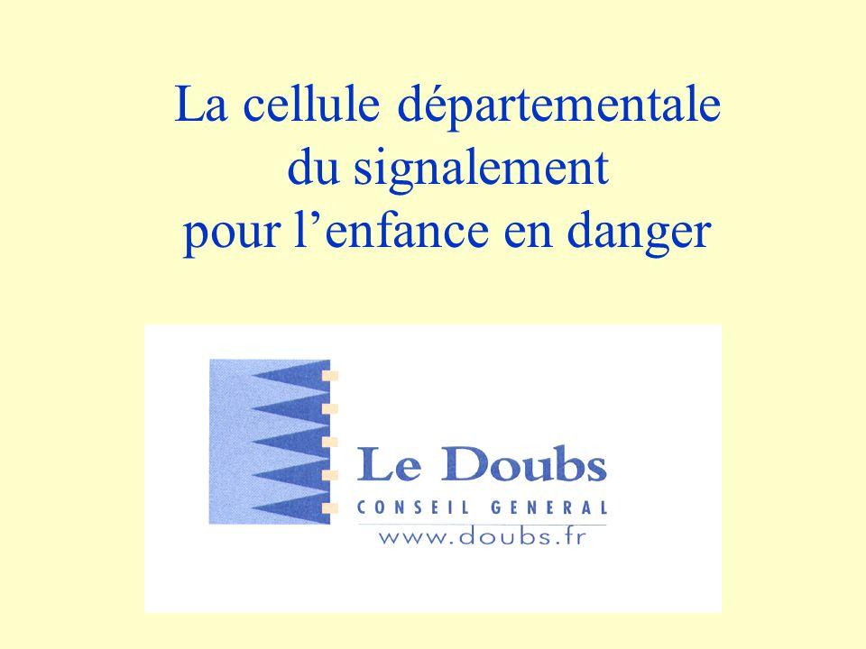 La cellule départementale du signalement pour lenfance en danger