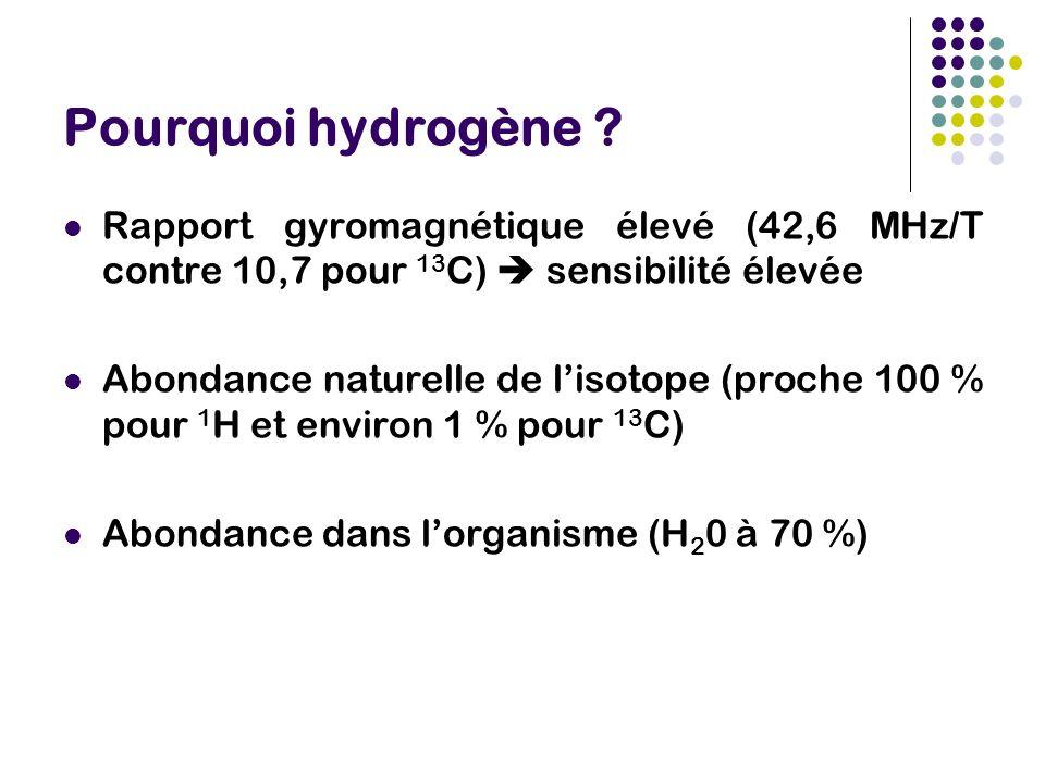 Pourquoi hydrogène .