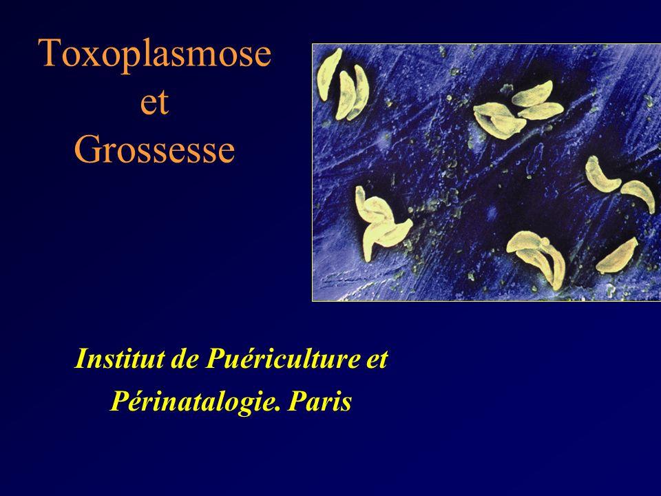 Toxoplasmose et Grossesse Institut de Puériculture et Périnatalogie. Paris