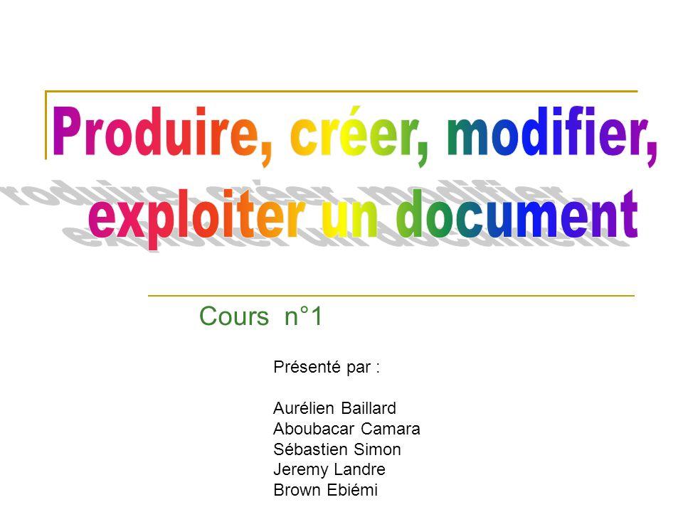 Sauvegarde dun document Word On peut aussi cliquer sur la disquette dans le menu fichier et cliquer sur enregistrer