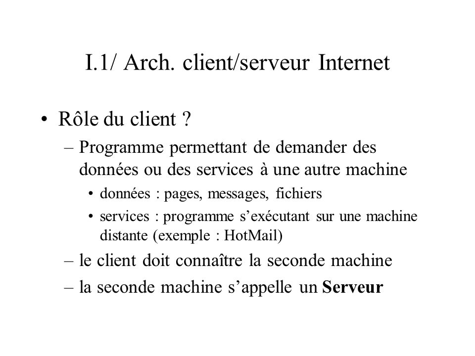 VI.2/ Le SGBD Relationnel MySQL MySQL est essentiellement un serveur (cf.