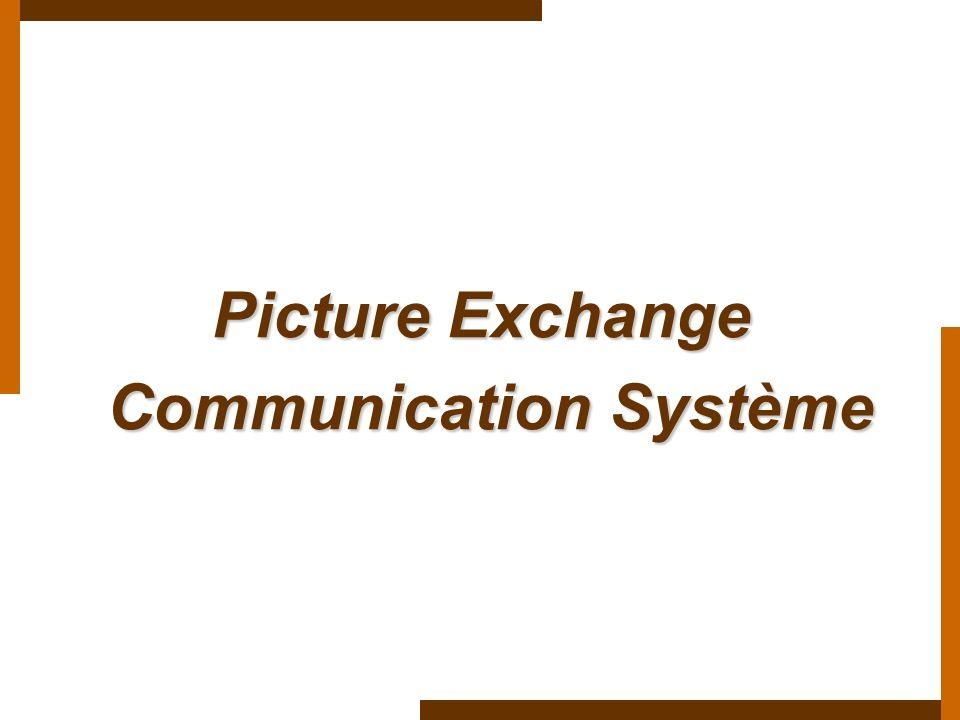 Picture Exchange Communication Système Communication Système