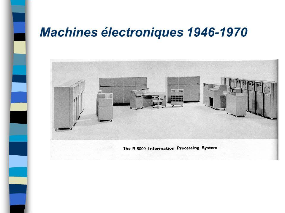 Machines électroniques 1946-1970
