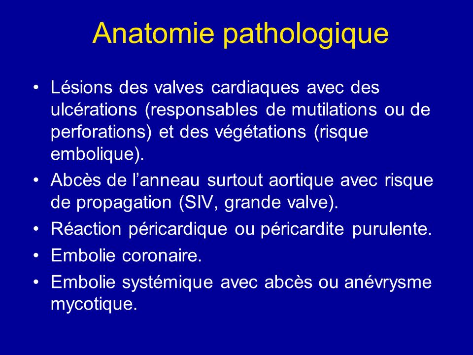 Indications chirurgicales dans lEI sur valves natives Insuffisance cardiaque.