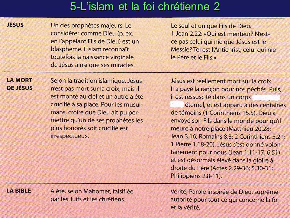 5-Lislam et la foi chrétienne 2