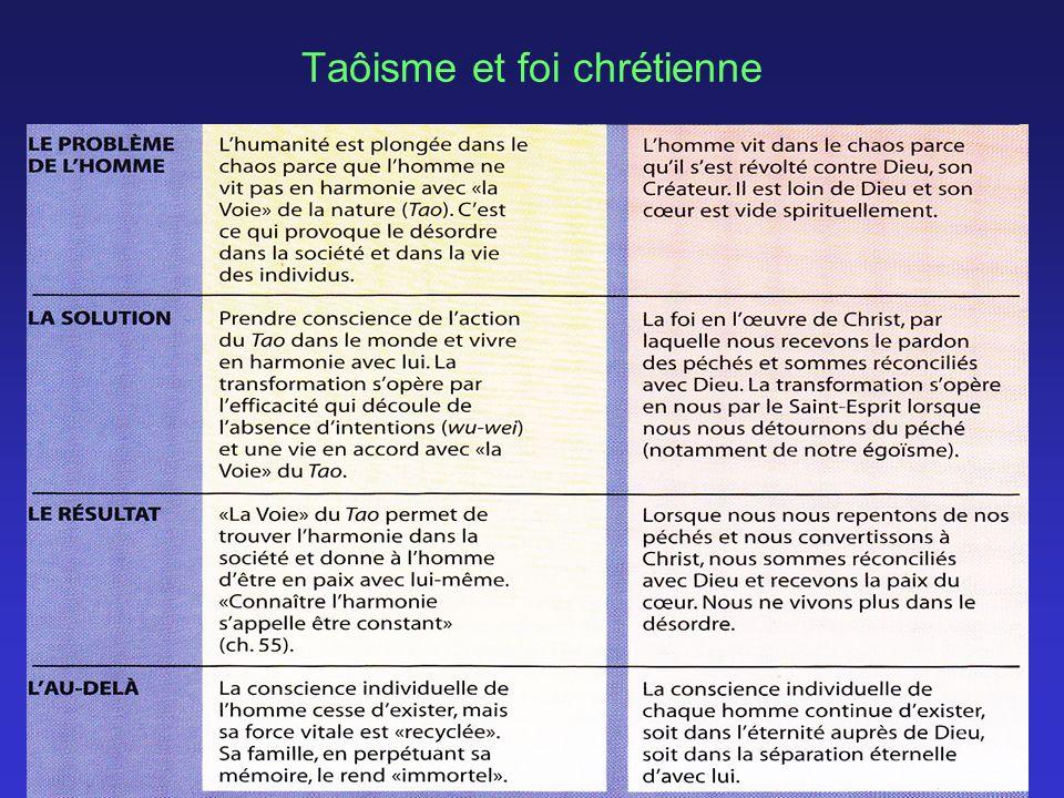 Taôisme et foi chrétienne