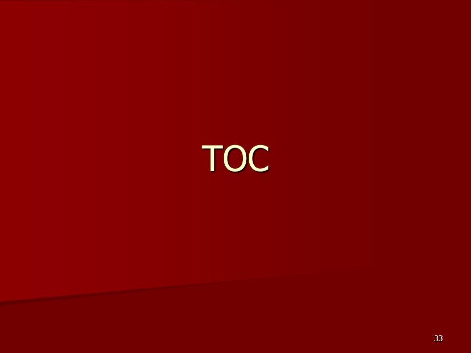 33 TOC