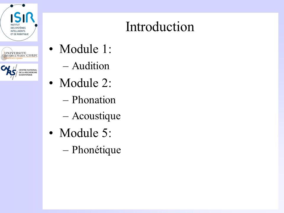 Introduction Utilité dun cours de Physique en Orthophonie? –Représentation des signaux –Compréhension de phénomènes physiques tels que la propagation