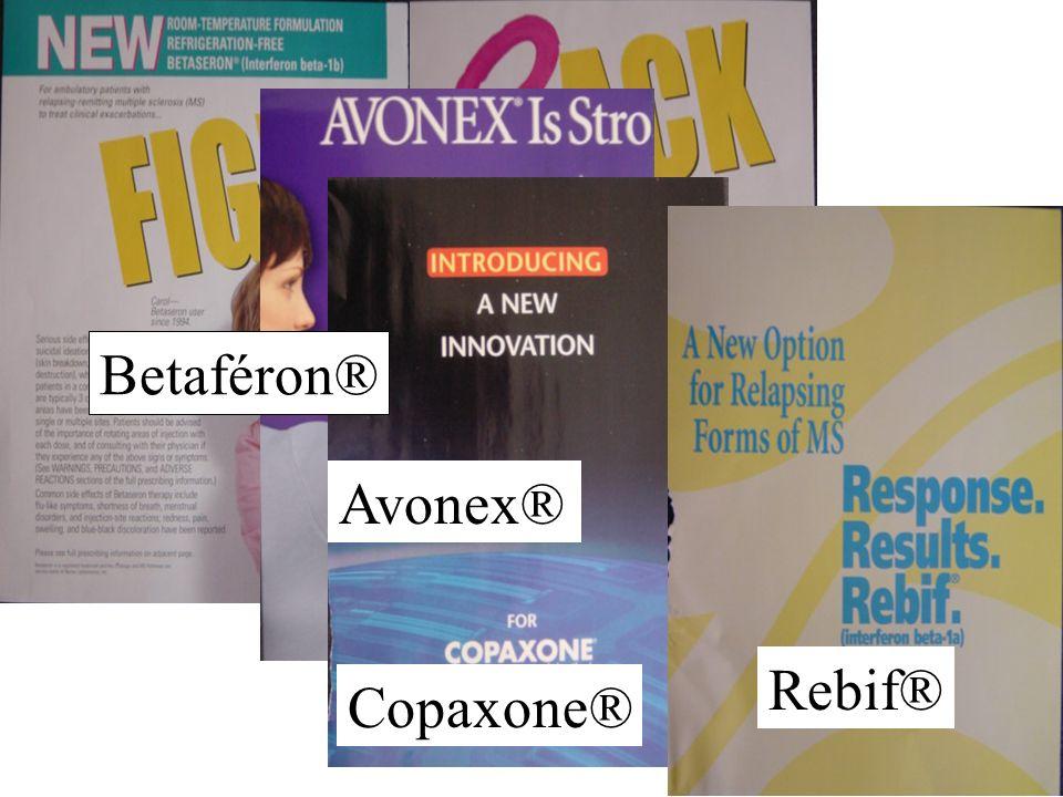 Betaféron® Avonex® Copaxone® Rebif®