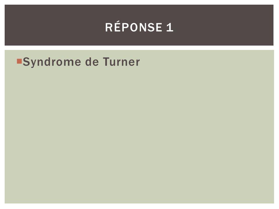Que doit faire redouter la présence dun chromosome Y dans la formule chromosomique ? QUESTION 12