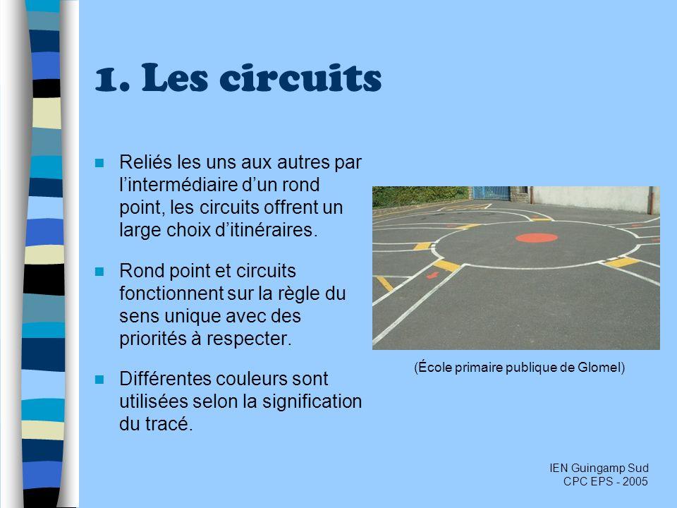 1. Les circuits Reliés les uns aux autres par lintermédiaire dun rond point, les circuits offrent un large choix ditinéraires. Rond point et circuits