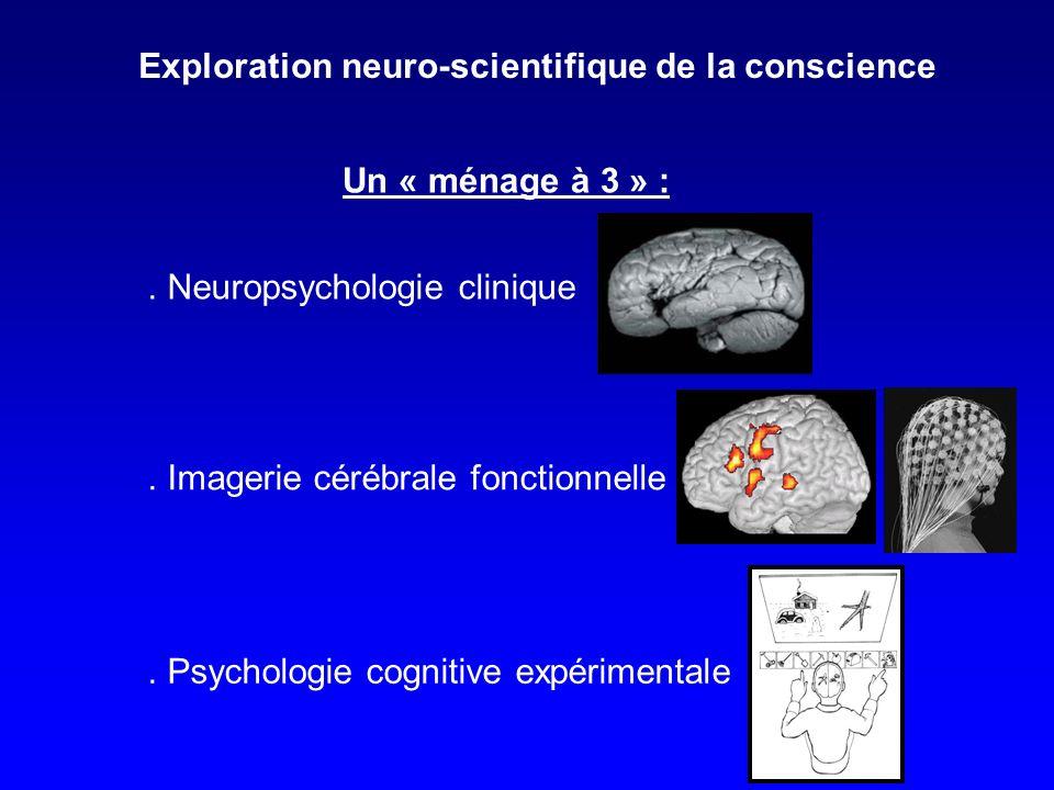 Quelques conséquences : Compatible avec une conception Jacksonienne : «le traitement conscient est cortical ; le traitement inconscient est sous-cortical ».