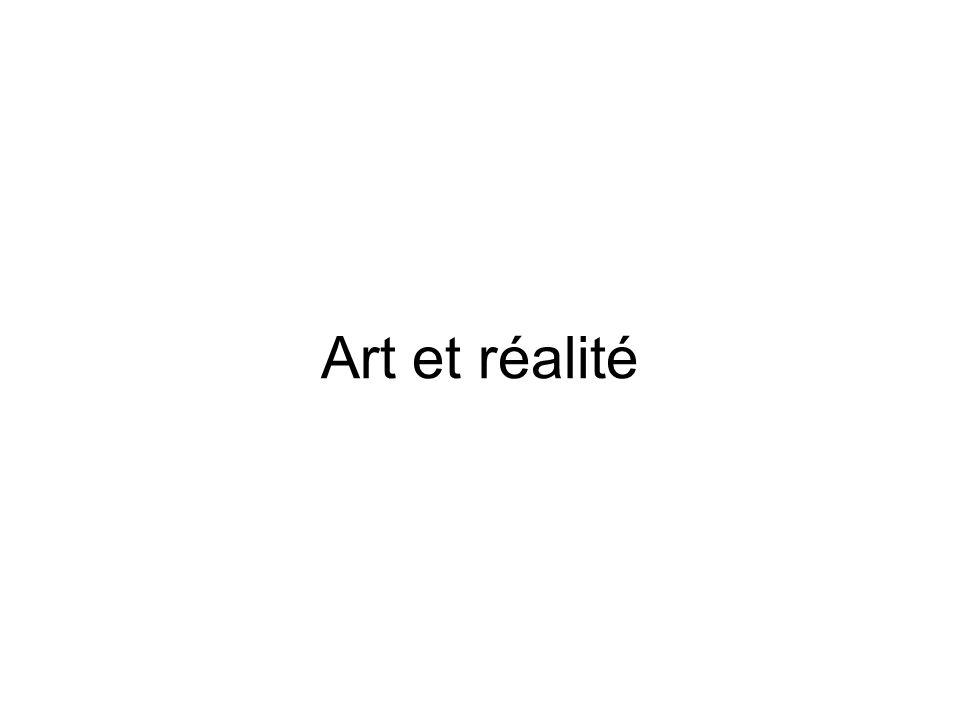 Introduction Quelle réalité représentée dans la peinture .
