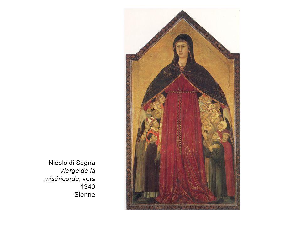 Nicolo di Segna Vierge de la miséricorde, vers 1340 Sienne