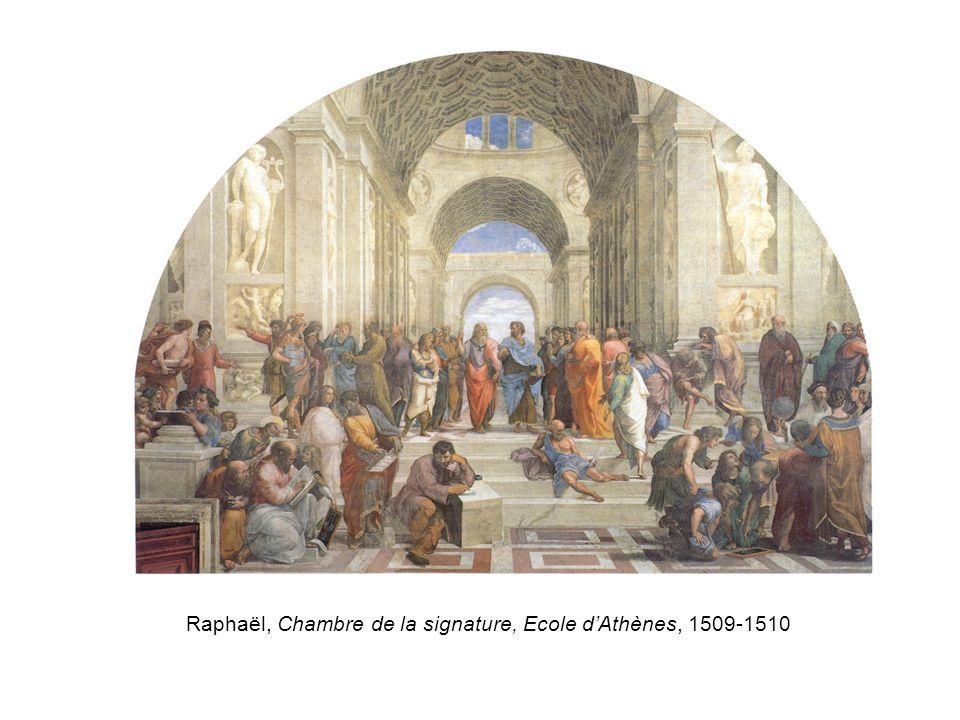 Raphaël, Chambre de la signature, Ecole dAthènes, 1509-1510