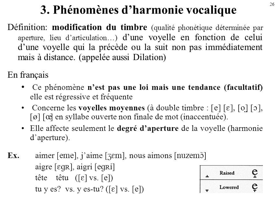 25 On note lallongement dun son par [ ] ([:]) qui est placé à droite du symbole, ex. [ ] Un faible allongement (demi allongement) est noté par [ ], ex