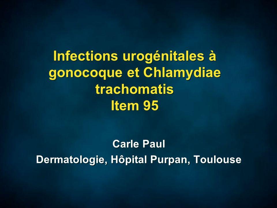 Cervicite à Chlamydia