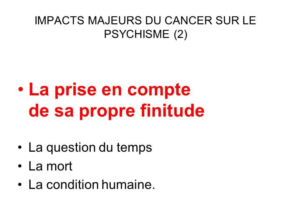 INTRICATION CANCER et PSYCHOLOGIE Etude de cas : Mme B 51 ANS.