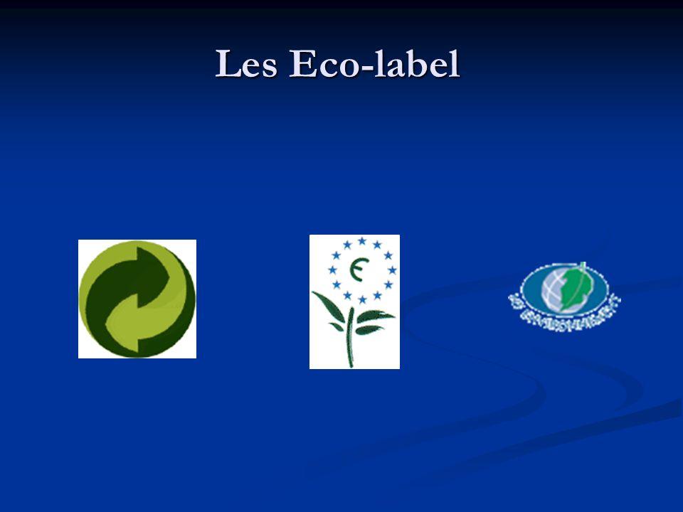 Les entreprises de grandes distributions créent également leur label prônant la protection de lenvironnement des produits Les entreprises de grandes distributions créent également leur label prônant la protection de lenvironnement des produits