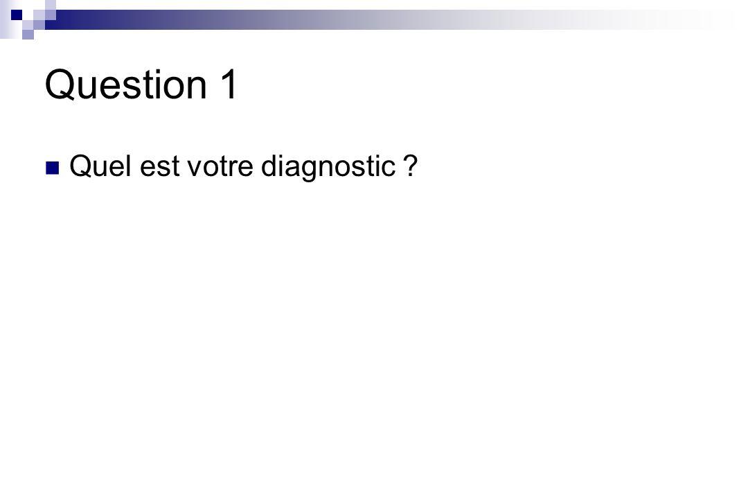 Réponse 1 Rhinite et asthme probablement induits soit par la prise de bêtabloquant et aggravés par la prise dASPIRINE.