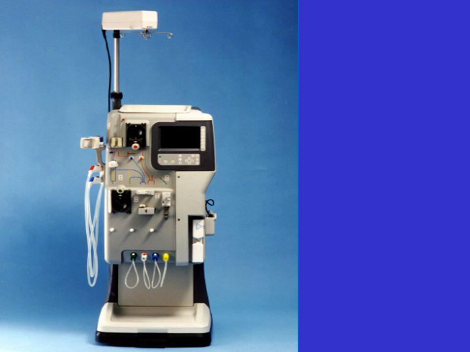 Le générateur dhémodialyse 1)Produit le liquide de dialyse. - solution de composition proche du plasma normal. - addition de concentré et deau ultra-p