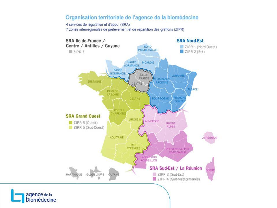 La Franche-Comté 2 hôpitaux où on prélève des organes : Le CHU de Besançon Le CH de Belfort-Montbéliard Mais tous les établissements de santé franc- comtois doivent collaborer à cette activité.