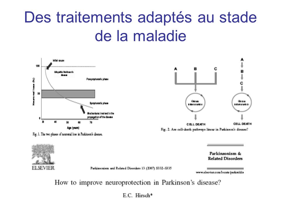Neuroprotection: exemple de la nicotine: effets variables selon le modèle animal Quik et coll, 2007