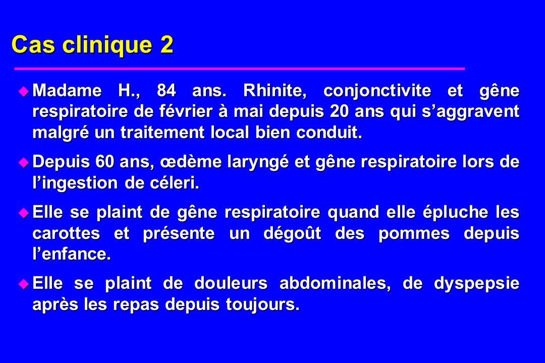 Question 1 u Quel est votre diagnostic ?
