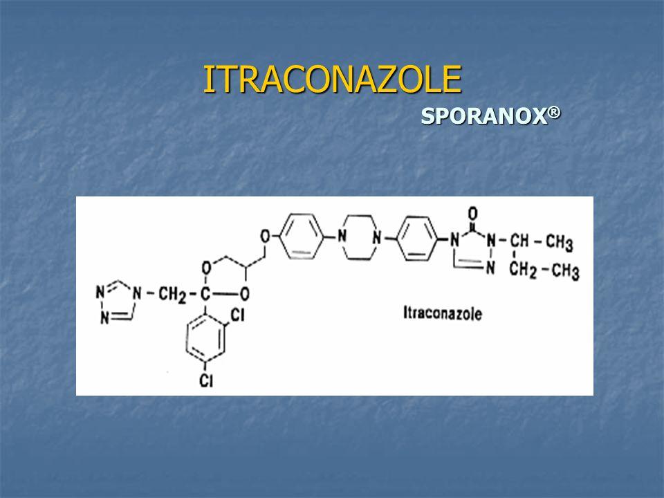 ITRACONAZOLE SPORANOX ®