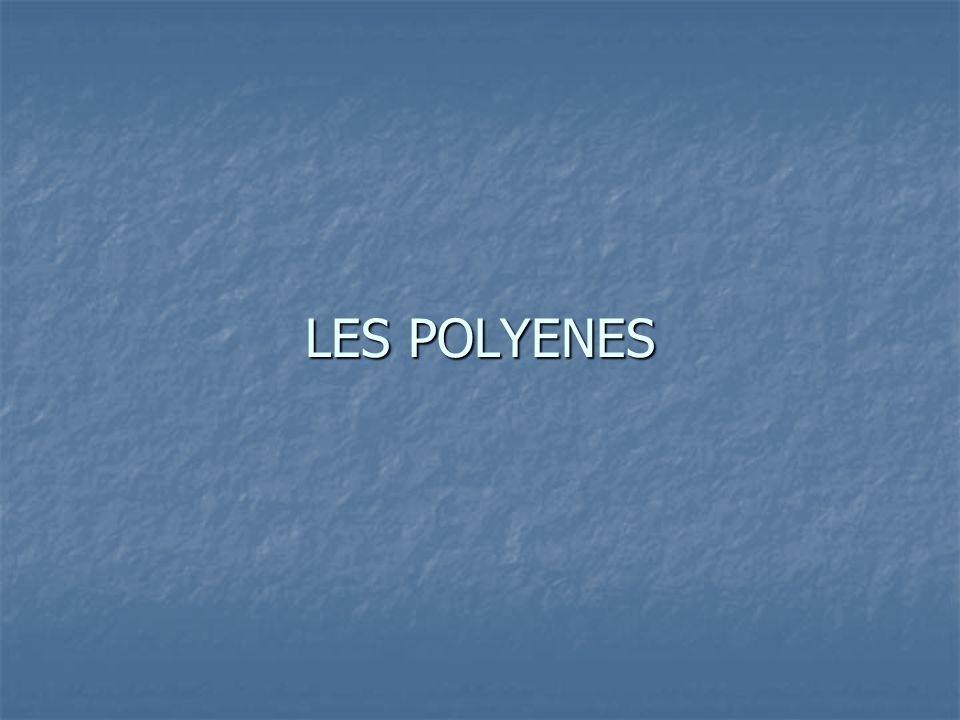 LES POLYENES