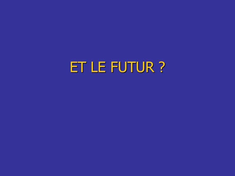 ET LE FUTUR ?