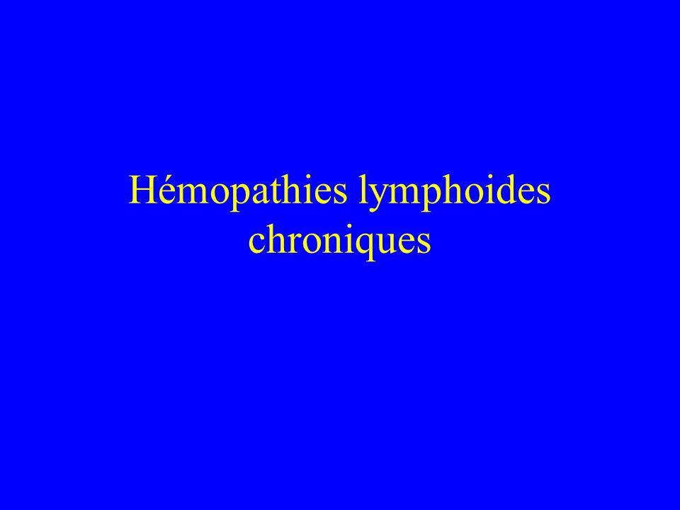 Hémopathies lymphoides chroniques