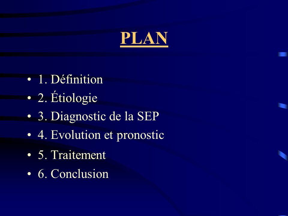 1.Définition : La sclérose en plaques (SEP) est une affection inflammatoire et démyélinisante du système nerveux central, caractérisée par « une dissémination des lésions dans l espace et dans le temps ».
