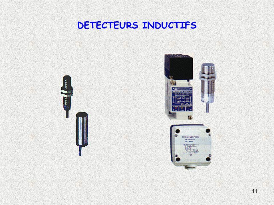 11 DETECTEURS INDUCTIFS